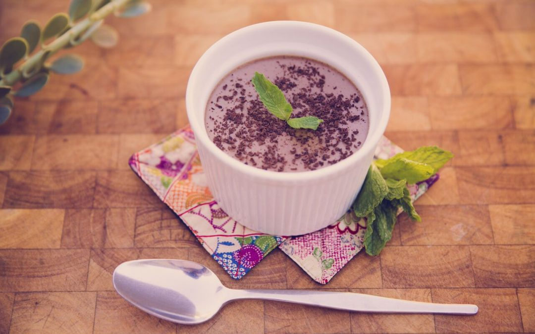 Choc Mint Panna Cotta