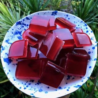 Pomegranate kefir gummies